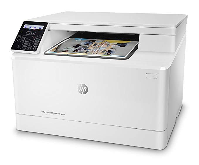 Hp Color Laserjet Pro M180nw All In One Wireless Color Laser Printer With Mobile Printing Mobile Print Laser Printer Best Laser Printer