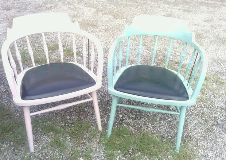 Vintage Drexel Chair Antique Wooden Distressed Shabby Chic Furniture (Local  Pic