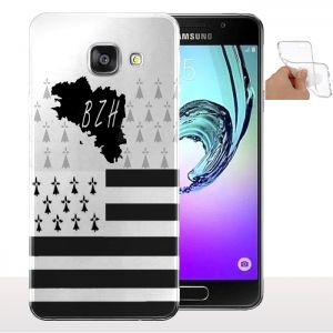 Coque personnalisée Region Breizh Samsung A5 (2016) - Housse gel en Silicone