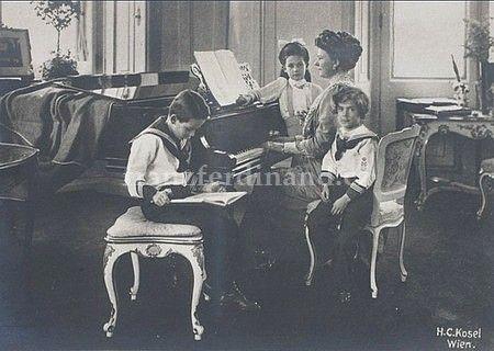 Děti :: František Ferdinand Rakouský-Este