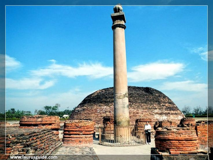 Ashoka Pillar at Sarnath is one of the most famous and most visited tourist spot in India. Emperor Ashoka erected this pillar like several others in other parts of his kingdom. The date of erection and commissioner of this pillar is also confirmed by the edicts of Ashoka that is engraved on it. The pillar also records the visit of Ashoka to Sarnath. The year of his visit is said to be around mid 3rd century BC.