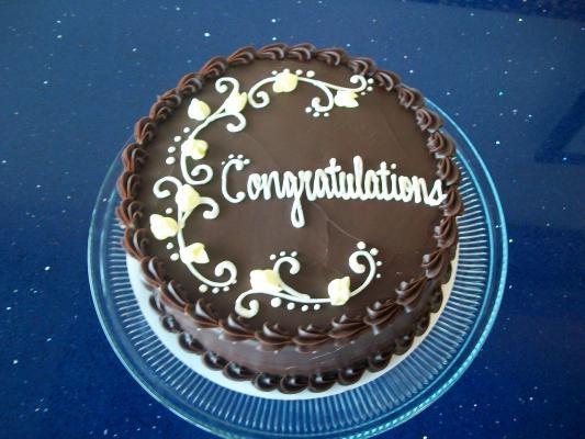 Congratulations Cake Specialty Cakes Congratulations Cake Cake