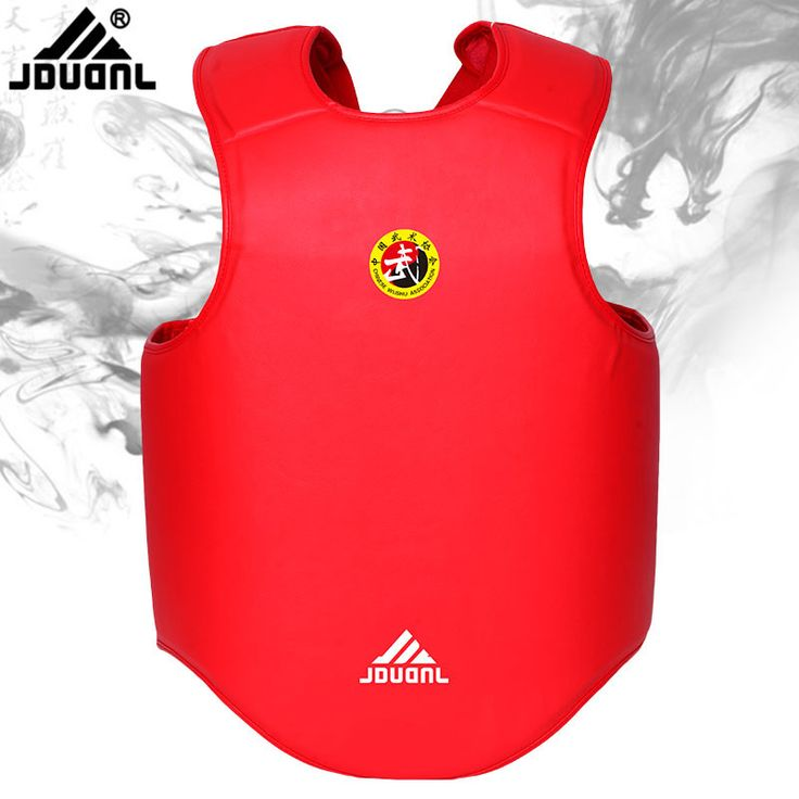 Taekwondo Chest Protector Guard Muay Thai Karate Kickboxing Chest Guards Children Men Women WTF Karate Fight TKD Chest Support