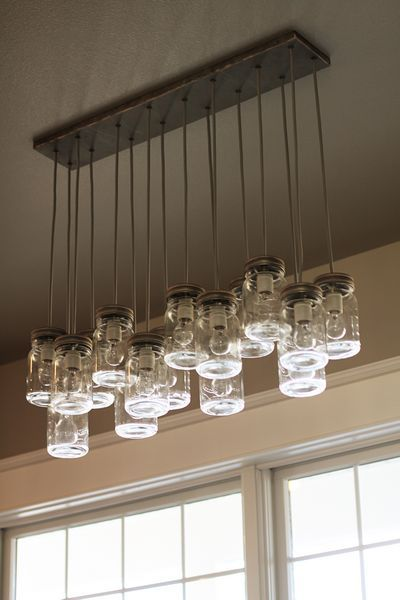 I want to make this but frost the jars so you can't see all the light bulbs. This is simply beautiful!