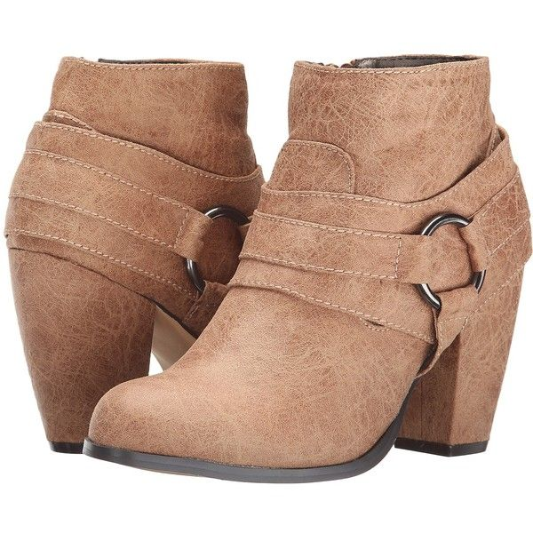 Bot¨an Caderian para mujer Jessica Simpson, Taupe c¨¢lido, 6 M US