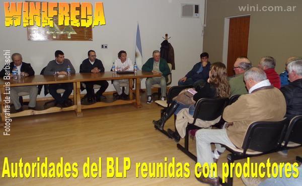 Productores se reunieron con autoridades del Banco de La Pampa