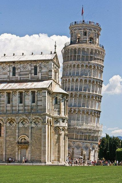 Once a maritime power to rival Genoa and Venice, Pisa now draws its fame from an architectural project gone terribly wrong  Read more: http://www.lonelyplanet.com/italy/tuscany/pisa#ixzz3CpseVwHq