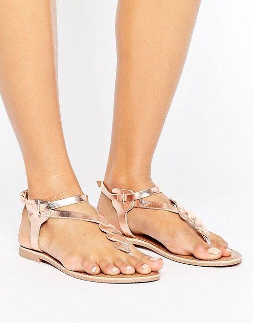 New Look - Sandales tressées en cuir  17,99 € ASOS