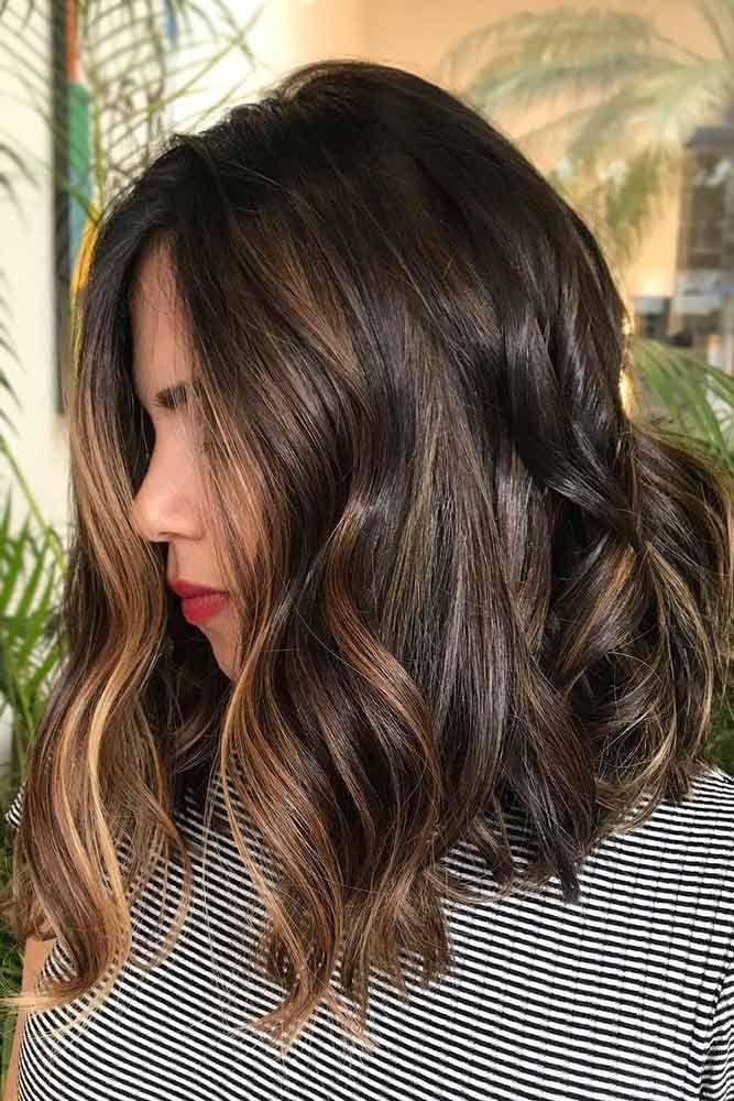 45 Suggestions For Dark Brown Hair Color Brown Hair