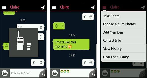 WeChat il WhatsApp per Nokia S40  Serie Asha, C e X