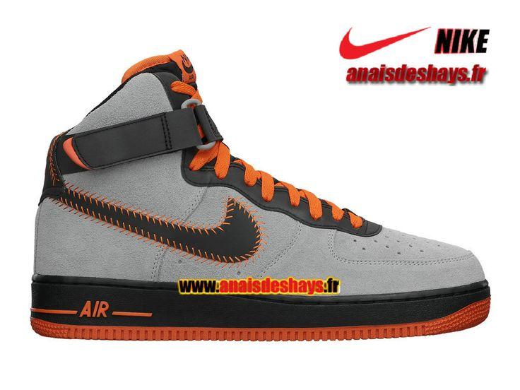 Boutique Officiel Nike Air Force 1 High Comfort Premium City Homme Gris  loup/Noir/