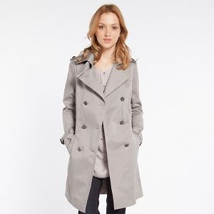 The Classic Trench Coat  from Comptoir des Cotonniers is a true  winner, representing a classic look that is both timeless and modern. The buttoned tabs on the shoulders and cuffs are both practical and stylish. Price: £145.00