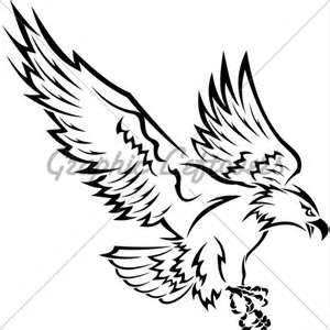 Vector Eps Jpeg 3090 X 3119 Pixels Description Tribal Eagle Tattoo