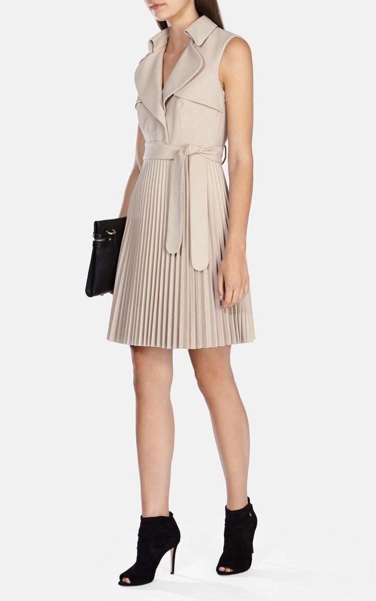 Платье-тренч Karen Millen. Цвет , купить за 27170р в официальном интернет магазине karenmillen.ru с доставкой по России
