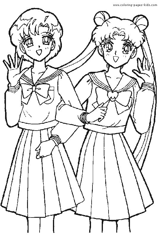 sailor moon color page coloring pages for kids cartoon characters coloring pages printable coloring pages color pages kids coloring pages
