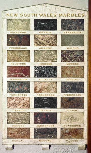 NSW marble, formerly in the foyer of Sydney's Geological and Mining Museum, which closed in 1996. #ThrowbackThursday