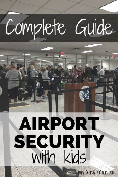 The Complete Guide to Speeding Through Airport Security with Kids: Shortcut long TSA lines during family trips with these 7 tips and services to make airport security a breeze!