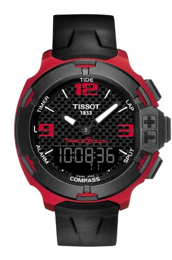 Relojes Tissot TRace Touch Aluminio Rojo T0814209720700 OFERTAS