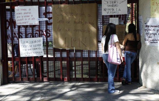 15 vocacionales están paro; Consejo Consultivo del IPN llama a regresar a clases