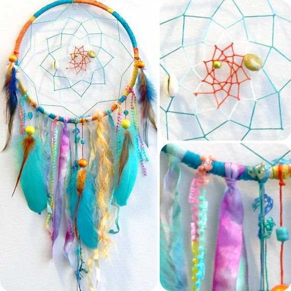 Calypso the Island Sea Nymph Native Woven Dream catcher by eenk