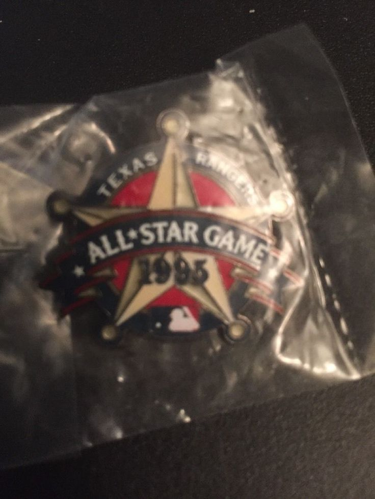 Texas Rangers MLB Lapel Hat Pin 1995 All Star Game
