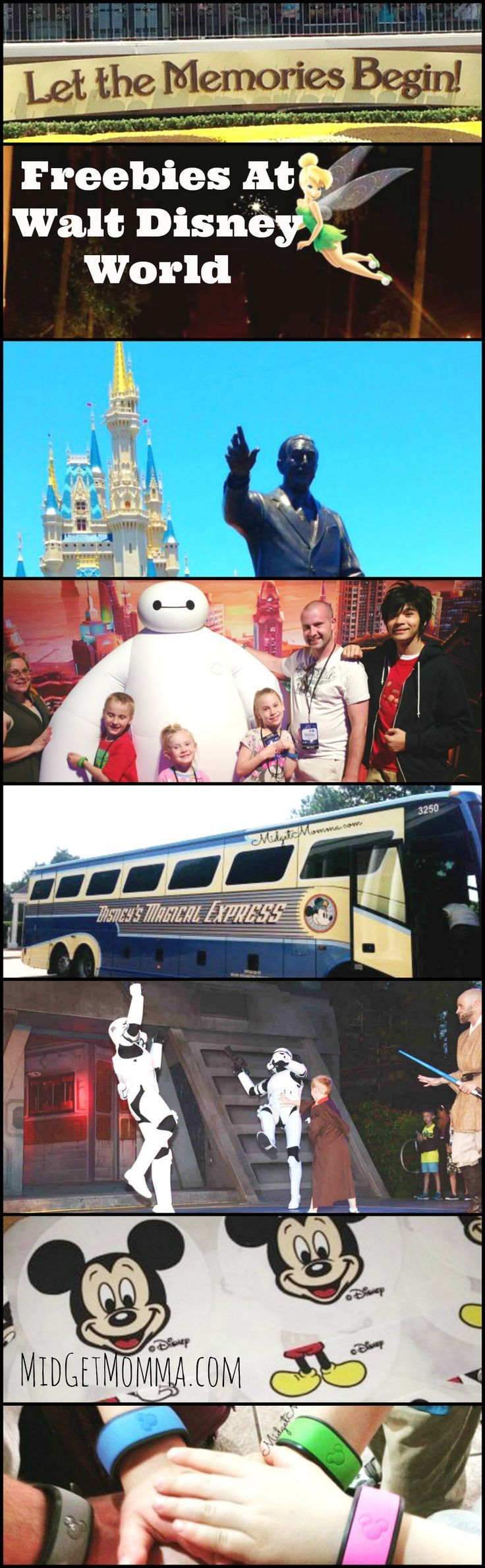 Things you can get for FREE at Disney World. Disney money saving tips. Things you can get for FREE @ Disney World