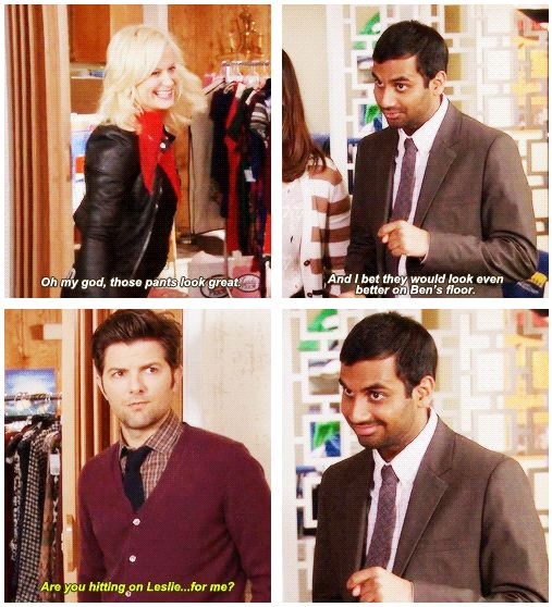 Tom Haverford will always be there for you. #ParksAndRec