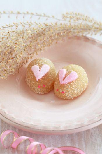 超かわいい!うさぎのお菓子~ピンク編~の画像 | Lilyのお茶時間inSingapore