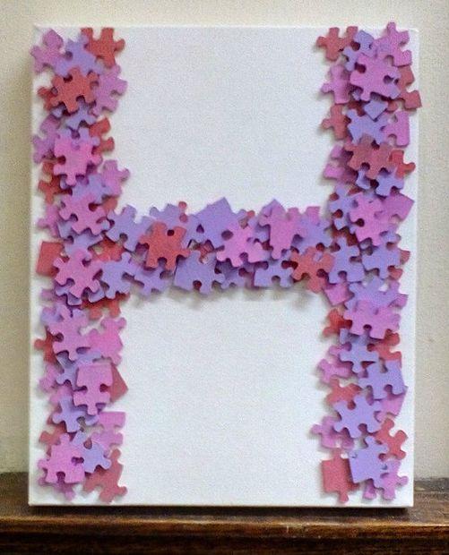 11 Fun Ways To Repurpose Puzzle Pieces