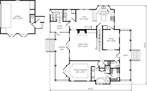 42 best drawings images on pinterest architects for Southern living cape cod house plans