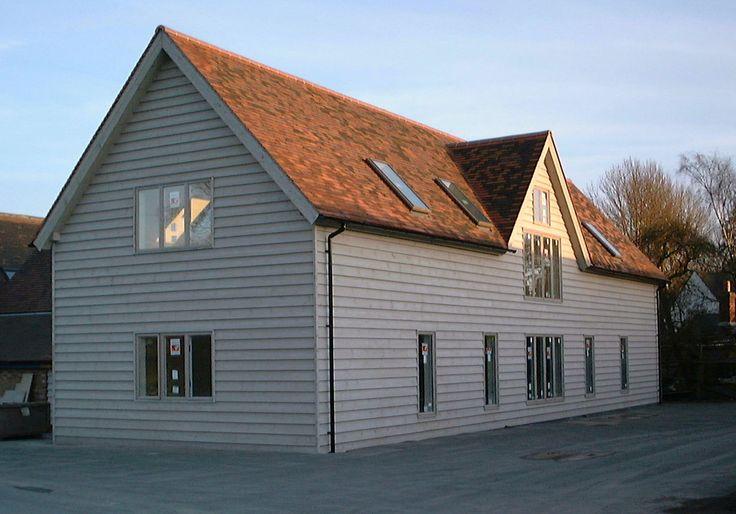 Border Oak - New Build Barn - The Border Oak Offices.