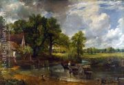 The Hay Wain, 1821  by John Constable