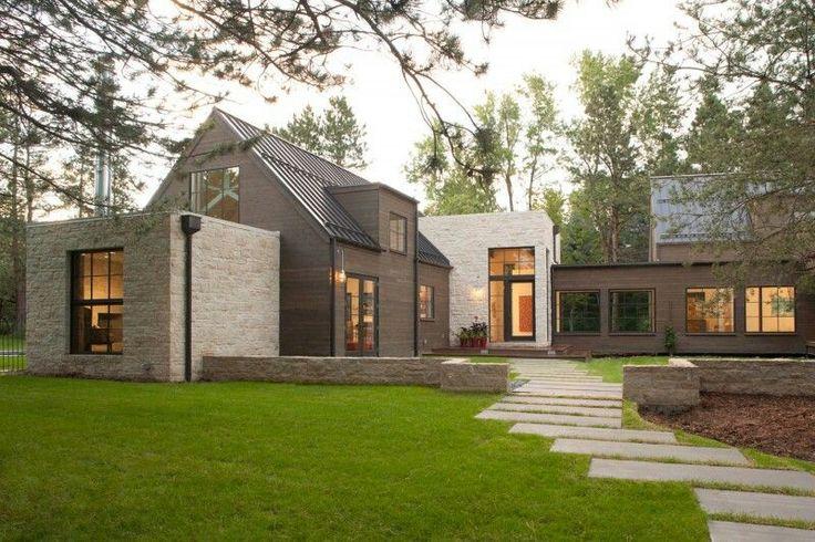 Simplistic Stone Home Exterior