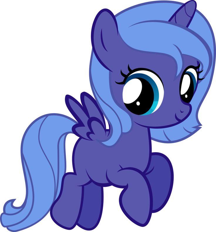 My little pony filly luna - photo#38