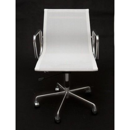 Fotel biurowy CH1171 biała siateczka