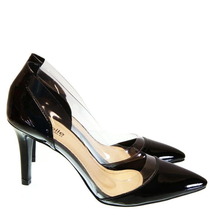 Scarpin Preto Verniz 2408 Moselle by Studio 64 | Moselle sapatos finos femininos! Moselle sua boutique online.