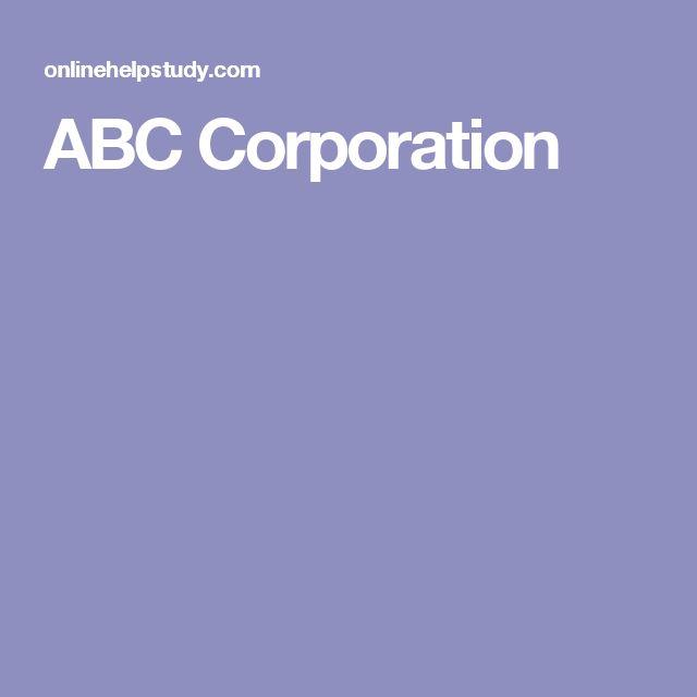 ABC Corporation