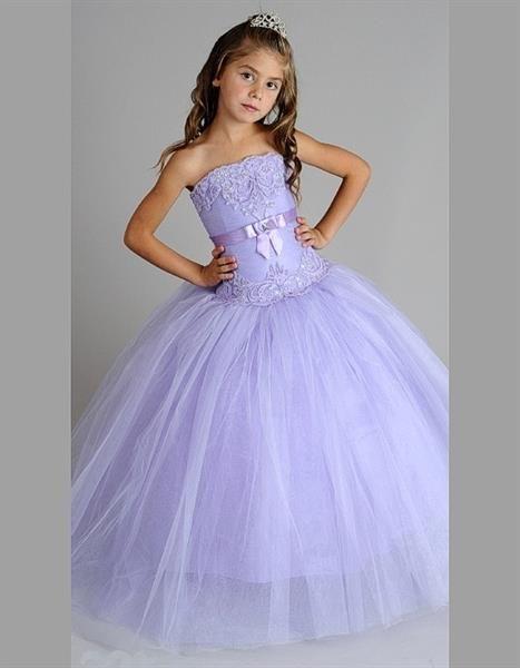 Бальное платье для девочки 12