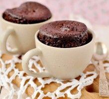 Recette - MugCake chocolat - Notée 4/5 par les internautes