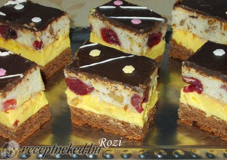 Kipróbált Fantasztikus sütemény recept egyenesen a Receptneked.hu gyűjteményéből. Küldte: Orbán Rozália