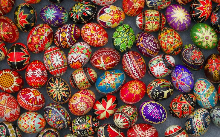 -Arts- The image above is of easter eggs that many Ukrainians paint as an art. The Ukraine's independence has opened the doors to arts. Many people in the Ukraine enjoy to make embroidered clothing, paint easter eggs, and dancing to folk music.