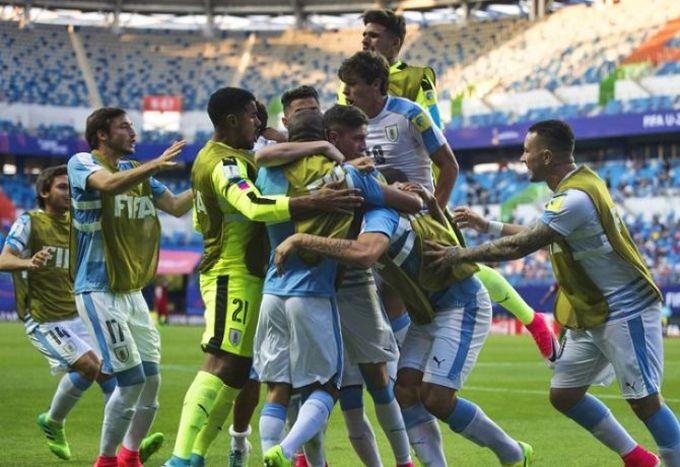 Los pasos de Uruguay para alcanzar la semifinal Sub-20 ante Venezuela #Deportes #Fútbol
