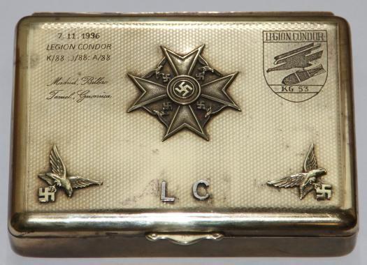 LEGION CONDOR CIGAR BOX