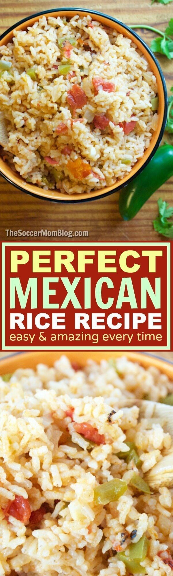 Passed down through generations and practiced to get it just right -- this truly is the perfect Spanish Rice recipe! A classic Mexican food staple.