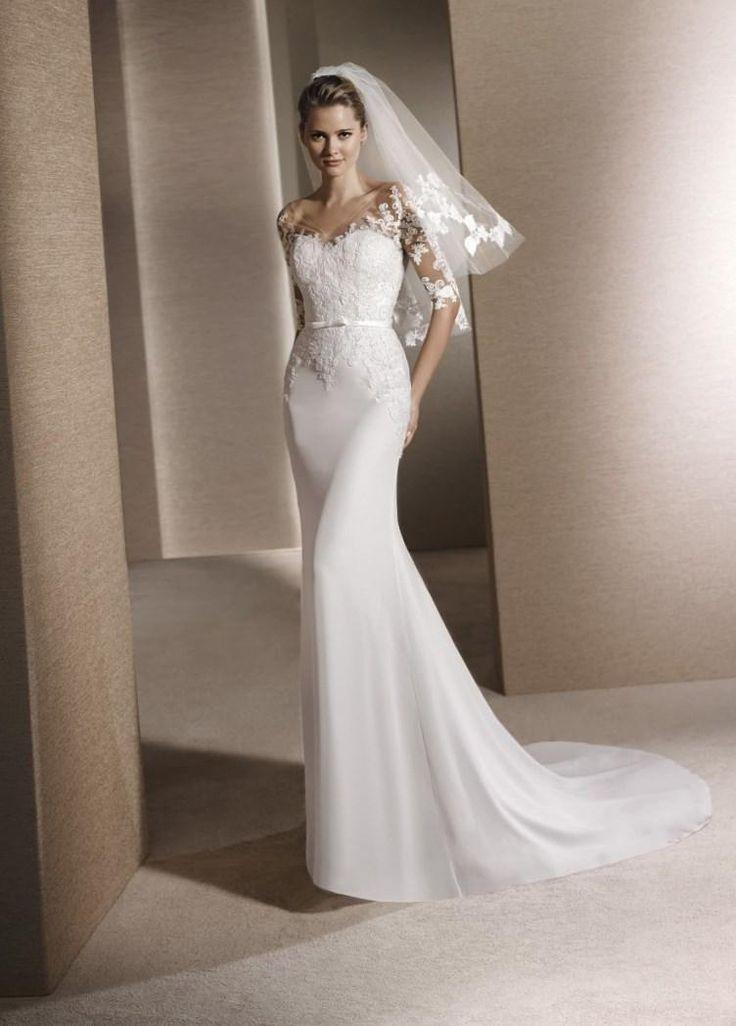 Свадебное платье 2016 - http://1svadebnoeplate.ru/svadebnoe-plate-2016-2843/ #свадьба #платье #свадебноеплатье #торжество #невеста