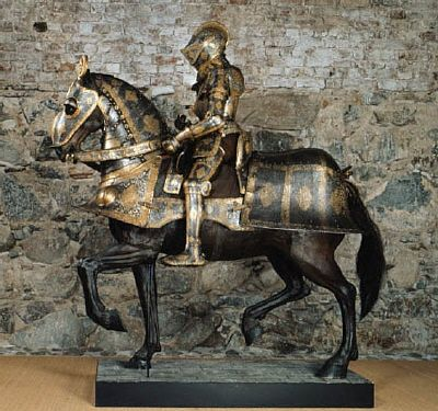 Courtesy of The Royal Armoury (http://emuseumplus.lsh.se/). Sigismund August's suit of armour, by Kunz Lochner (1550's)