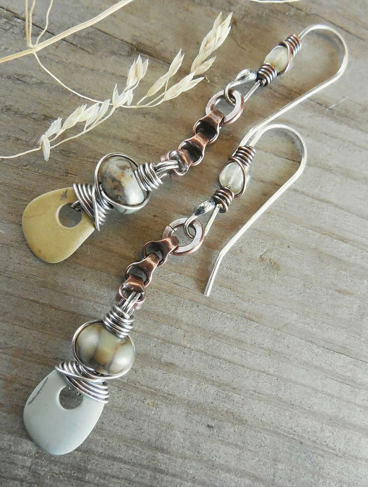 Earrings Everyday: Beach Stones