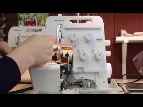 Serging 101: Videos for Threading Your Machine!