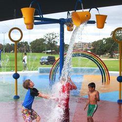 Granville Park splash park