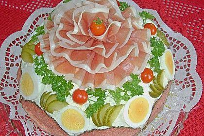 Bauernbrot - Torte (Rezept mit Bild) von doro2 | Chefkoch.de